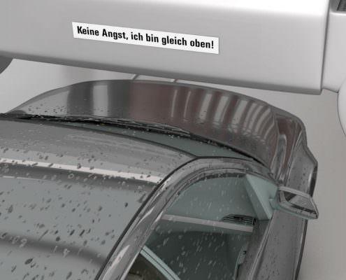Autowaschstraße chemische Trocknungshilfe