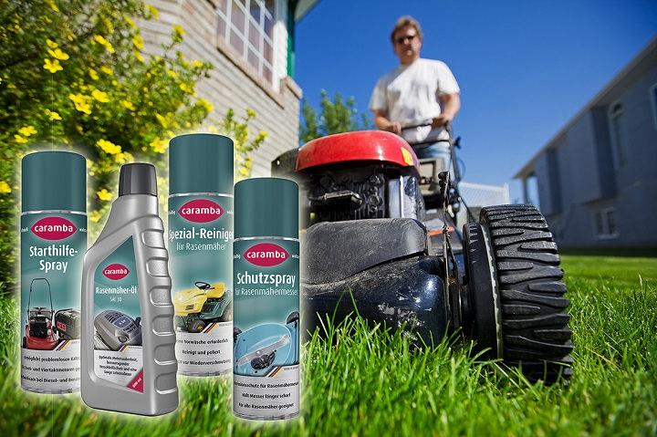 Caramba macht den Rasenmäher fit für den Winter Foto: Shutterstock/Stephen Mcsweeny/Caramba