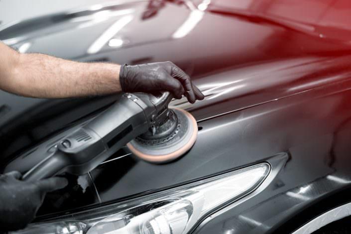 Autoaufbereitung mit Caramba