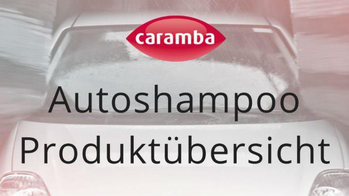 Autoshampoo Produktübersicht