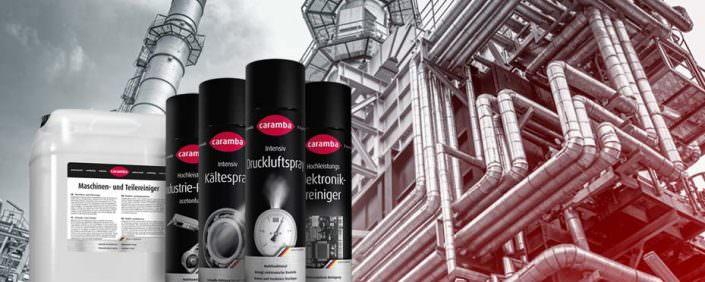 Caramba Industriereinigungsmittel Produktübersicht