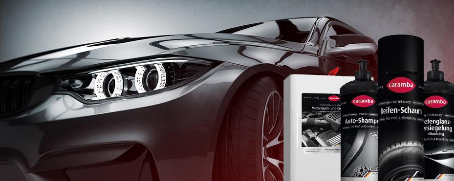 Caramba Produkte für die Fahrzeugaufbereitung