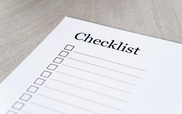 Checkliste zur Fahrzeugaufbereitung Caramba