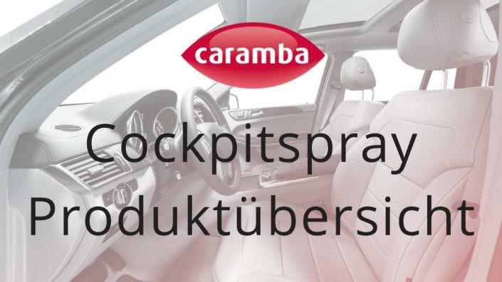 Cockpitspray Produktübersicht