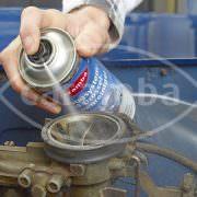 Drosselklappe reinigen mit Caramba Chemie