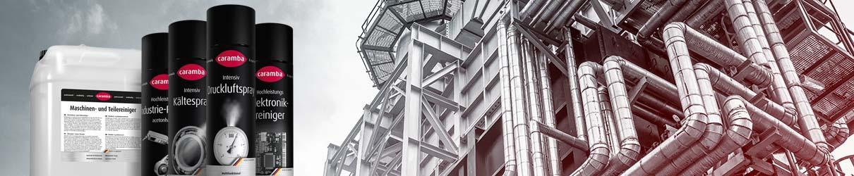 Industriereinigungsmittel Produktübersicht von Caramba