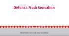 Mit Caramba Defensa Fresh Sensation Lackimprägnierung perlen Wasser und Schmutz von der Scheiben- und Lack-Oberfläche ab