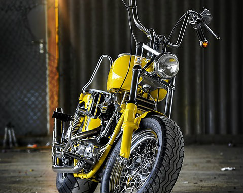 Motorrad reinigen mit Caramba