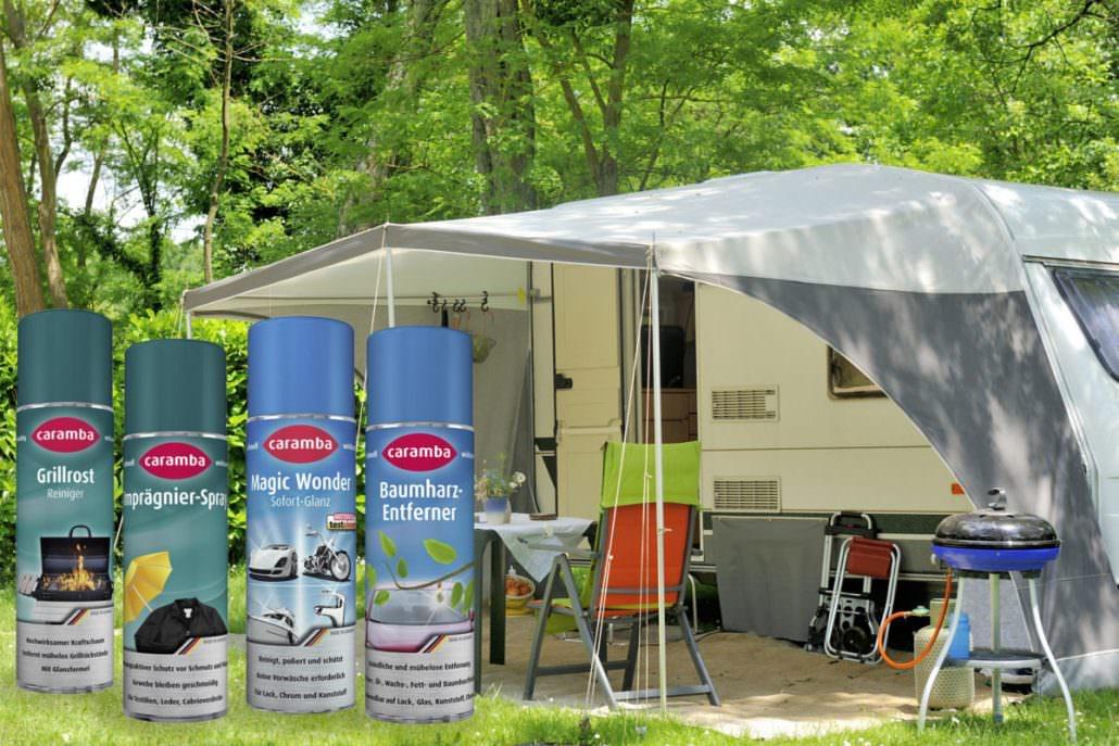 Praktische Helfer für Camping und Caravaning