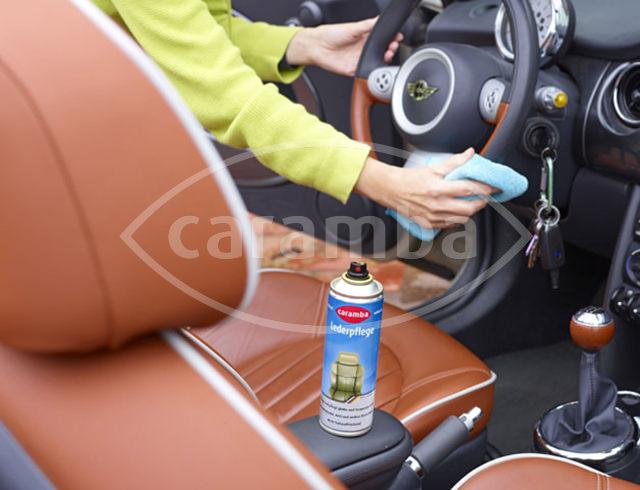 Leder Pflege Schaum Für Ledersitze Im Auto