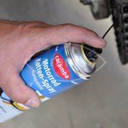 Transparentes Kettenspray für Zweiradfahrzeuge von Caramba