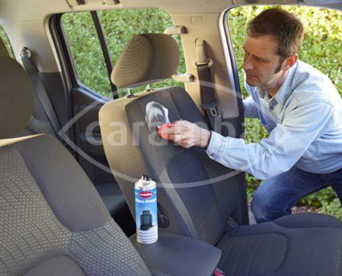 Autositze reinigen mit Caramba