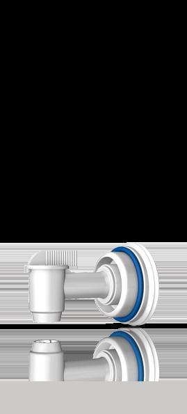 Ausgießhahn (60l, 200l Fässer)