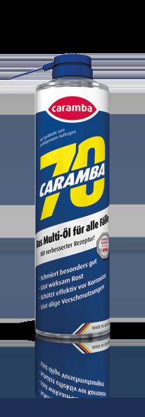 Caramba 70 mit tellerübergreifendem Sprühkopf