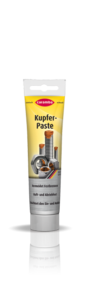 Copper Paste · against seizure for heavily stressed parts