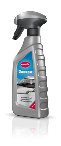 Glass cleaner · Cleaning with  long-term protection