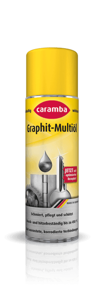 Graphite multi-oil · against rust and corrosion