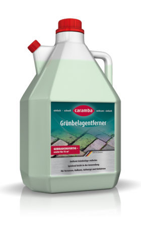 Caramba green growth remover