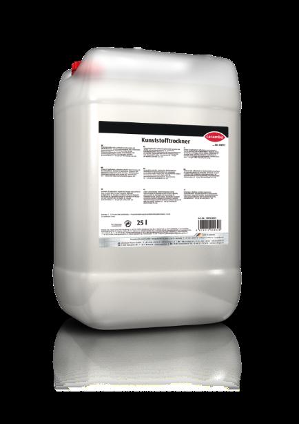 Kunststofftrockner / Klarspülmittel