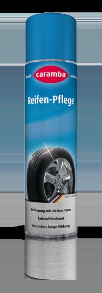 Reifen Pflege · reinigend und farbauffrischend