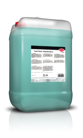 Truck Wash run-off dryer Concentrate