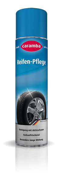 Tyre Care · Cleans and refreshes colour